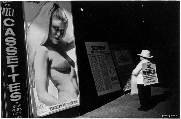 Times Square, 1980 - By Godlis