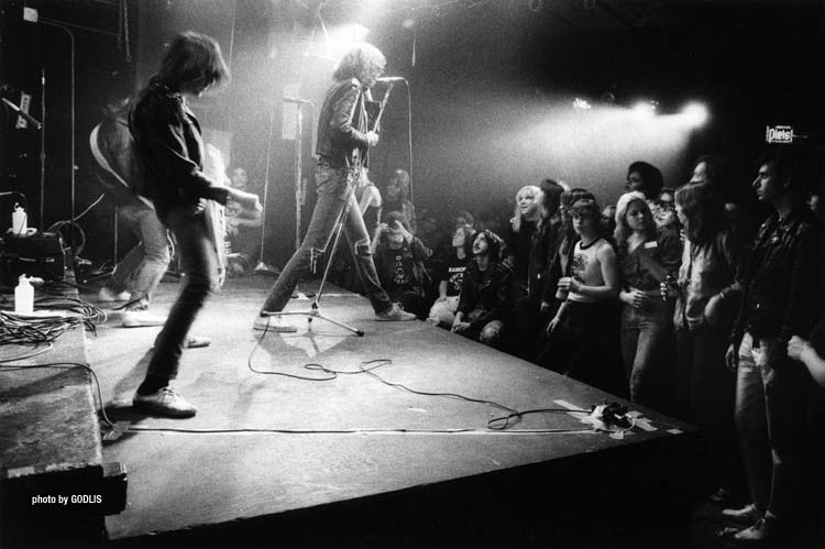 Ramones CBGB 1978 - By Godlis