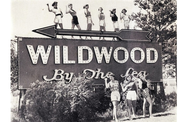 ROCK & ROLL WAS INVENTED IN WILDWOOD, NEW JERSEY!