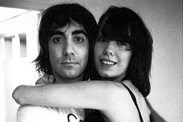 Keith Moon and Pamela Des Barres