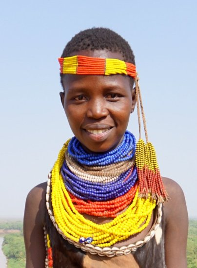A Karo woman I became friends with