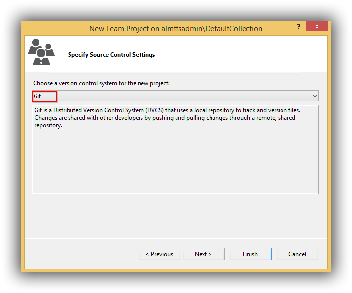 visual-studio-create-new-team-project-specify-git