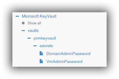 azure-resource-explorer-key-vault