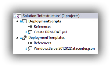 visual-studio-infrastructure-solution
