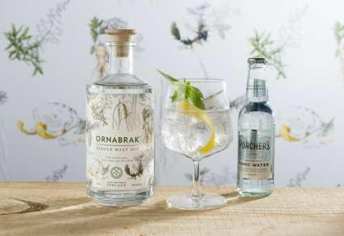 Ornabrak Single Malt Gin Tonic