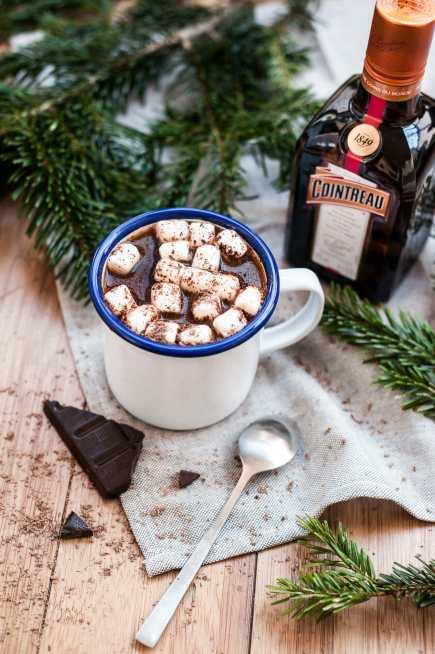 Cointreau cocktail choc hiver 2019