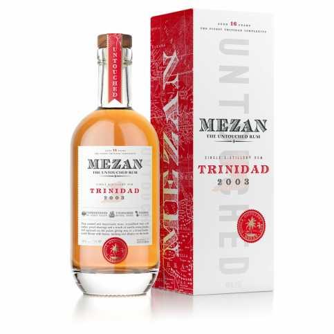 Mezan - Trinidad 2003 bouteille et étui 2019