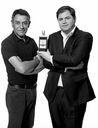 Hugo Desnoyer et Renaud Filloux de Gironde, mars 2019.