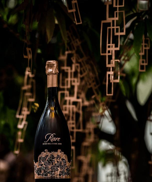 Rare Champagne Rosé 2008 Pavillon Reine