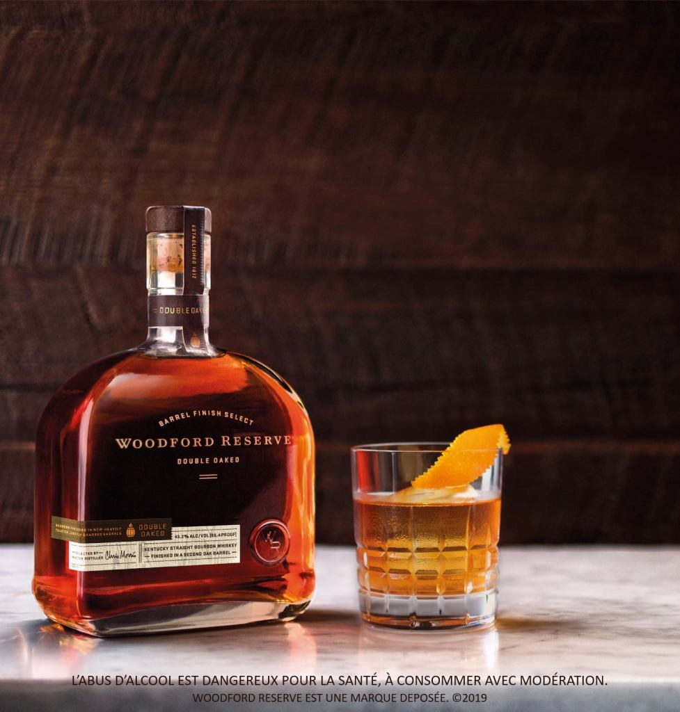 Old fashioned Woodford Reserve