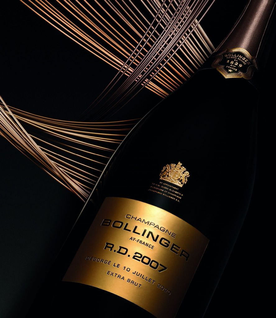 Bollinger RD 2007 bouteille