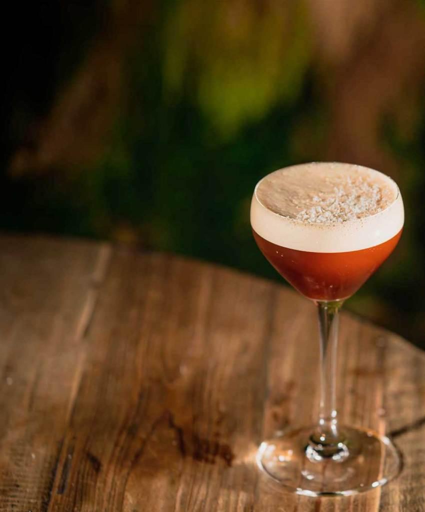 Secha de la Silva Rhum cocktail