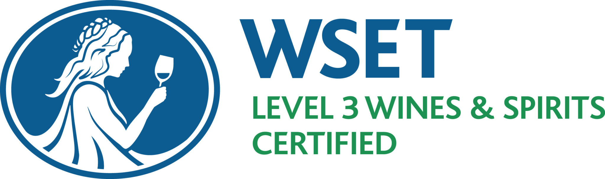 WSET Level 3 Wine and Spirit certified logo