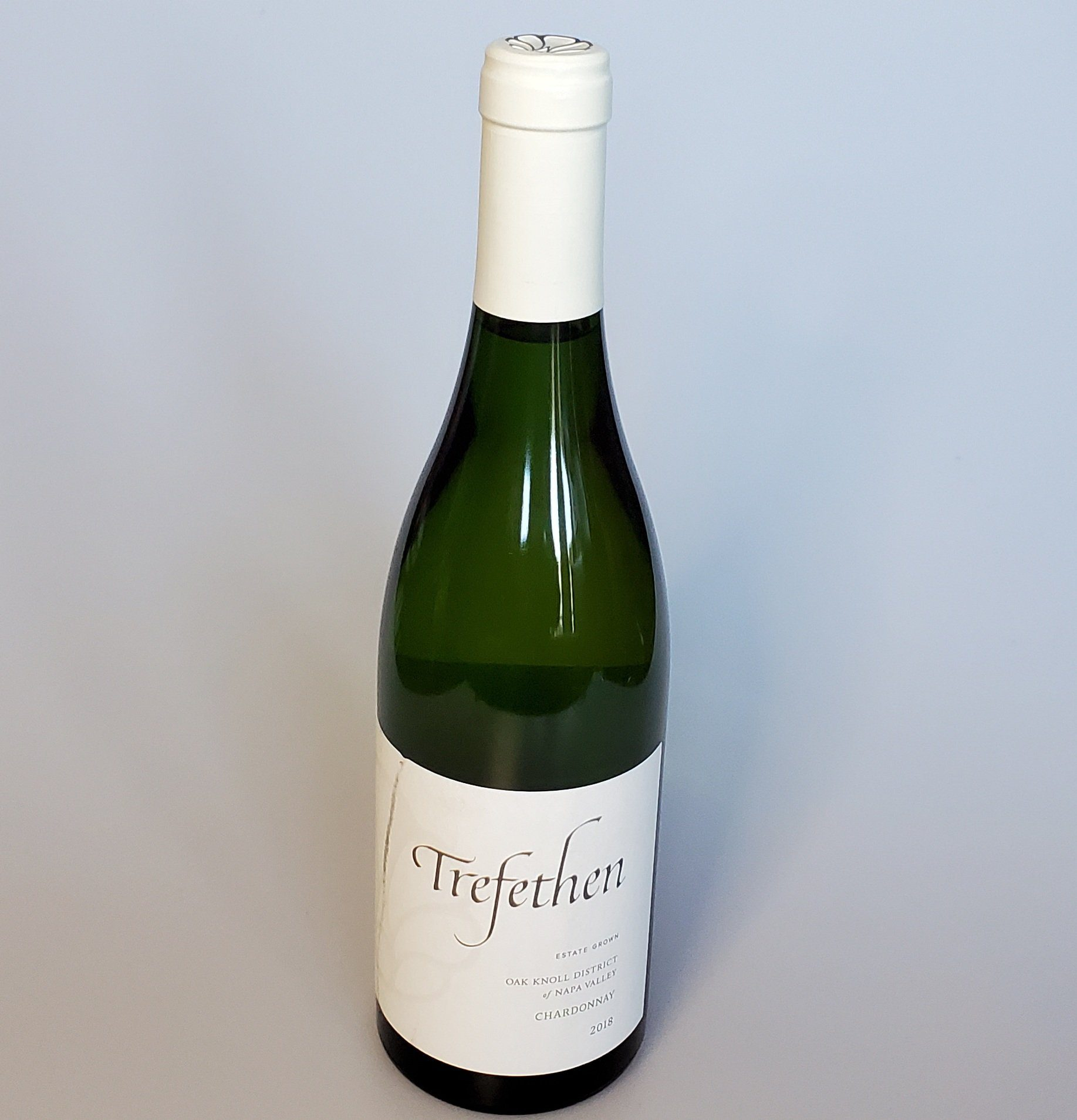 Please The Palate Wine of the Week: Trefethen 2018 Oak Knoll District of Napa Valley Chardonnay