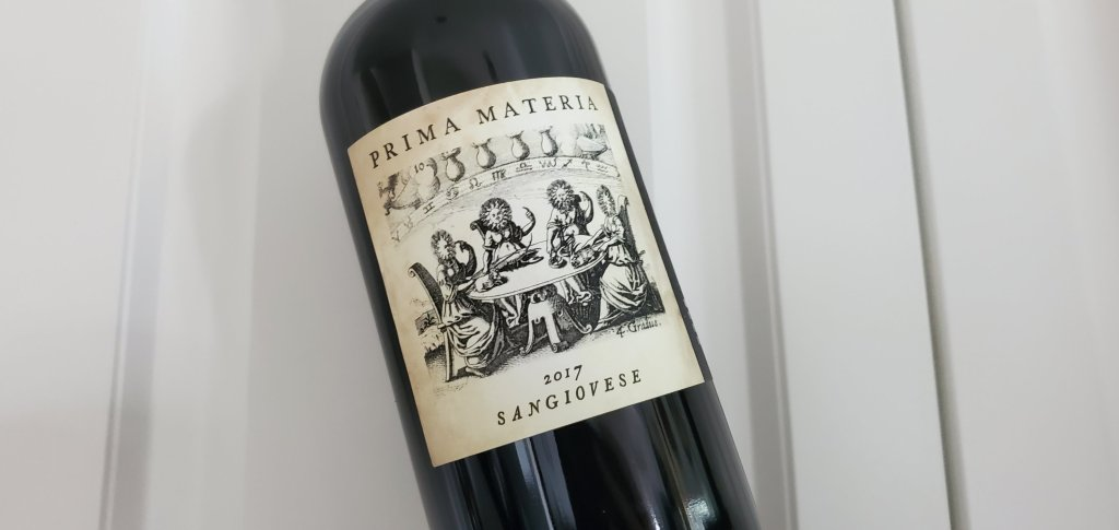 Please The Palate Wine of the Week: Prima Materia 2017 Sangiovese, Lake County