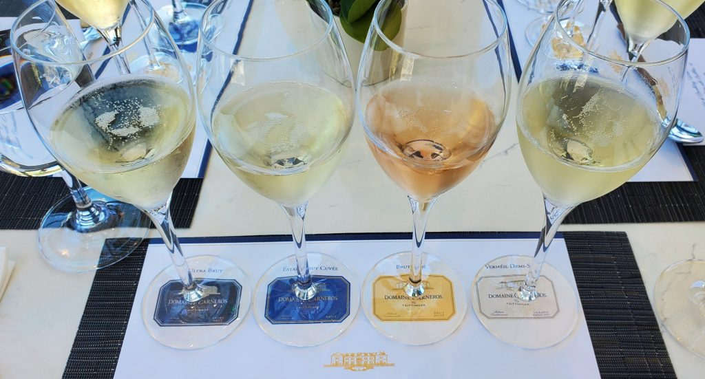 Please The Palate Pick of the Week: The Art of Sparkling Wine Pairing of Mexican Bites with Bubbles at Domaine Carneros