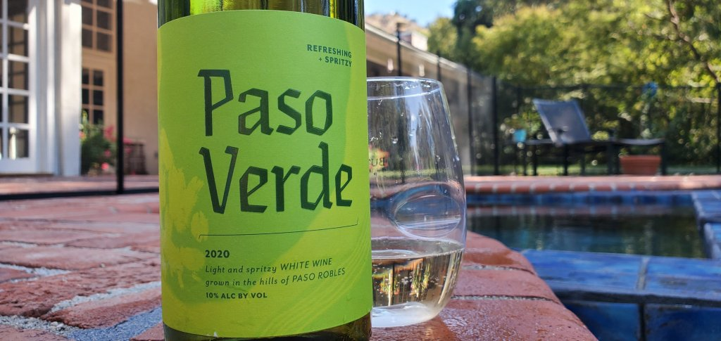 Please The Palate Wine of the Week: Paso Verde 2020 White Wine, Paso Robles