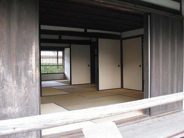 伊藤博文旧宅室内