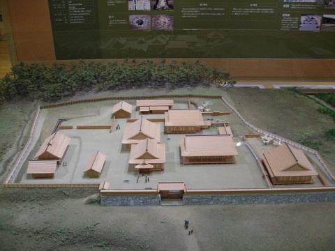 吉川元春館跡模型