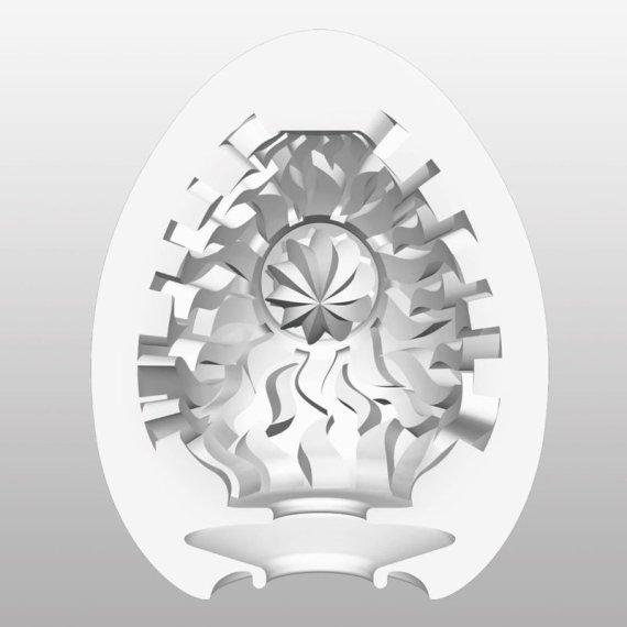 Tenga Egg Shiny masturbation sleeve with radiating waves on its internal surface