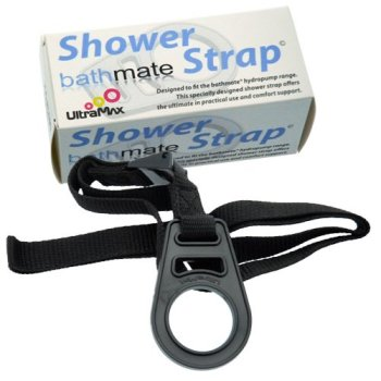 Bathmate shower strap compatible with all Bathmate penis pumps
