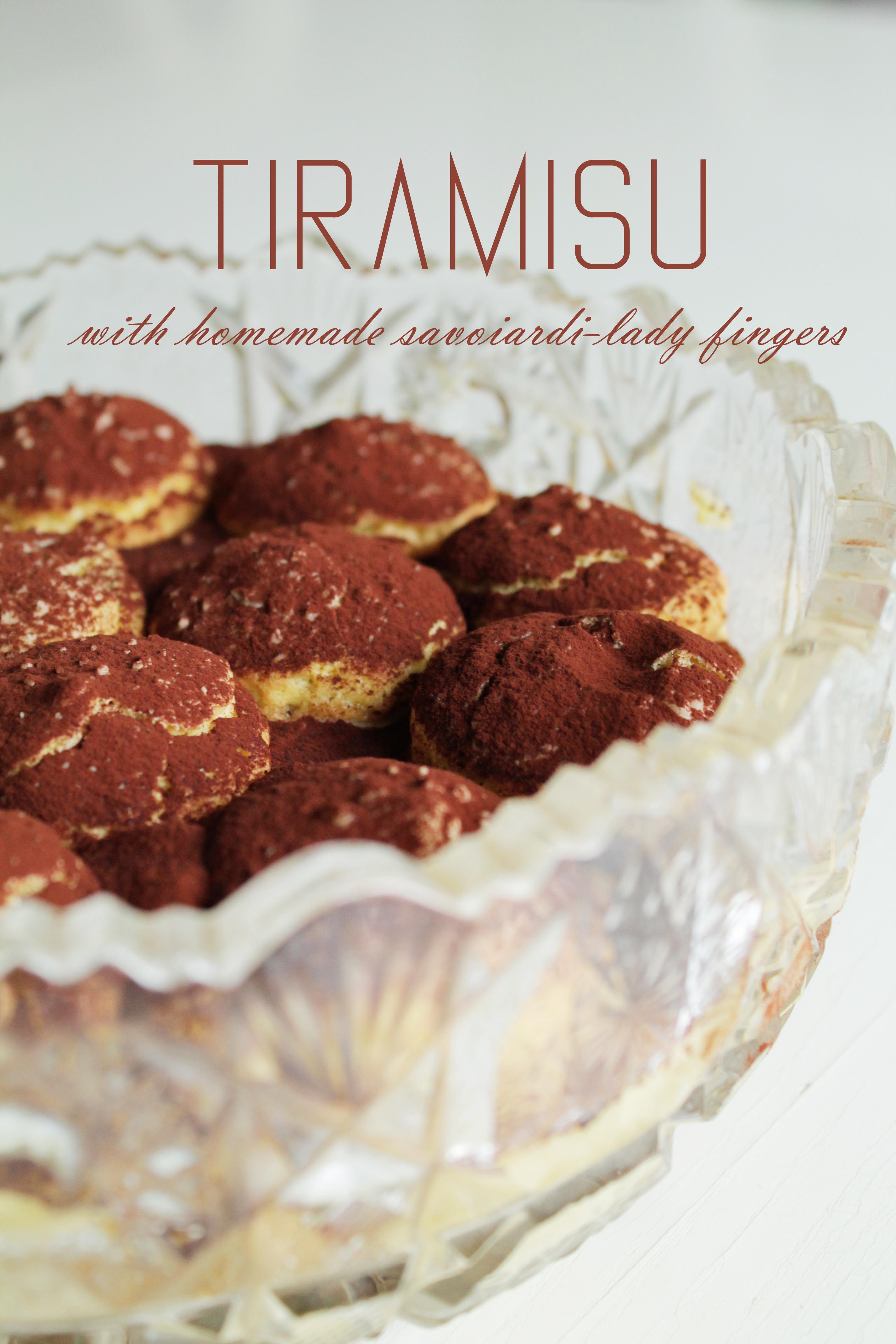 """Tiramisu with homemade savoiardi biscuits/Tiramisu su naminiais """"Damų piršteliais"""""""