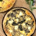 mushroom & caramelised onion tart 2