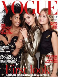 taylor-hill-anna-ewers-and-imaan-hammam-vogue-feb-2017-patrick-demarchelier-cover