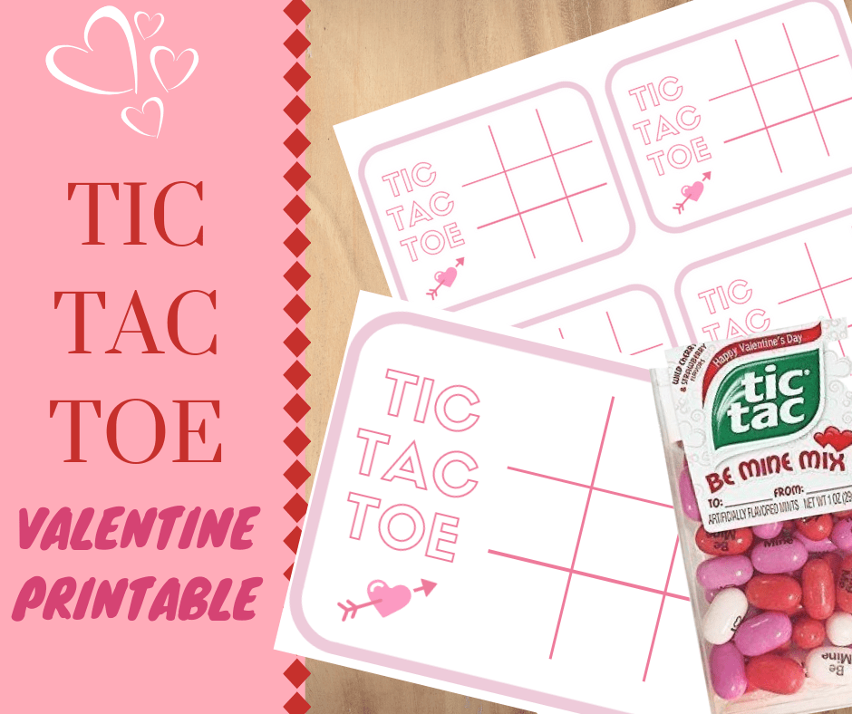 image relating to Tic Tac Toe Valentine Printable referred to as Tic Tac Toe Valentines pleatandpom