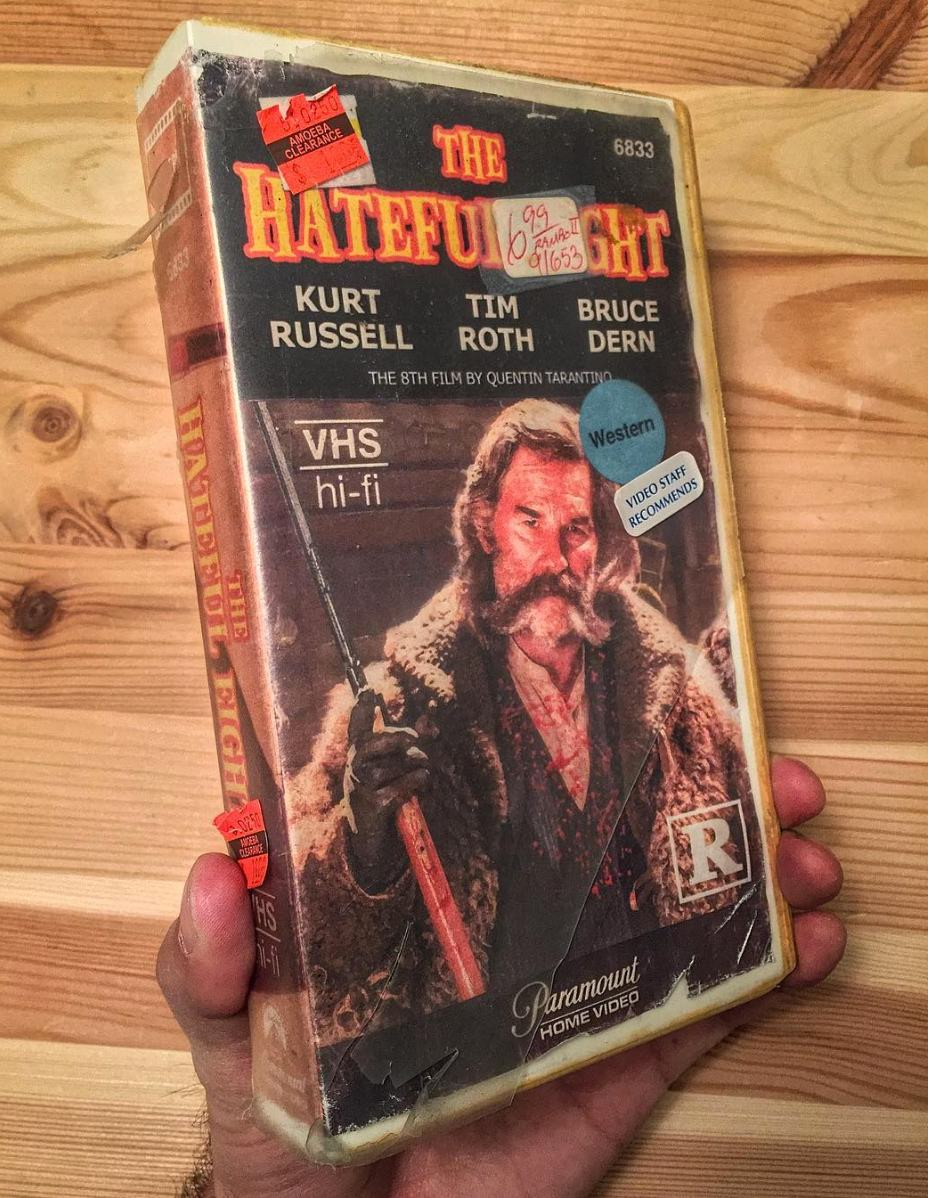 Vintage Vhs Covers For Modern Movies