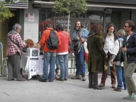 Plebiscito Vinculante haciendo cola para votar