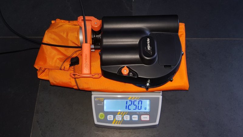 Alpride E1 weight