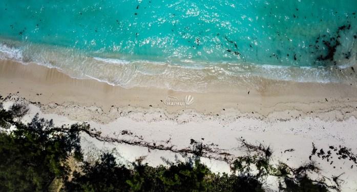 Vedere din dronă Ile aux Cerfs, Mauritius