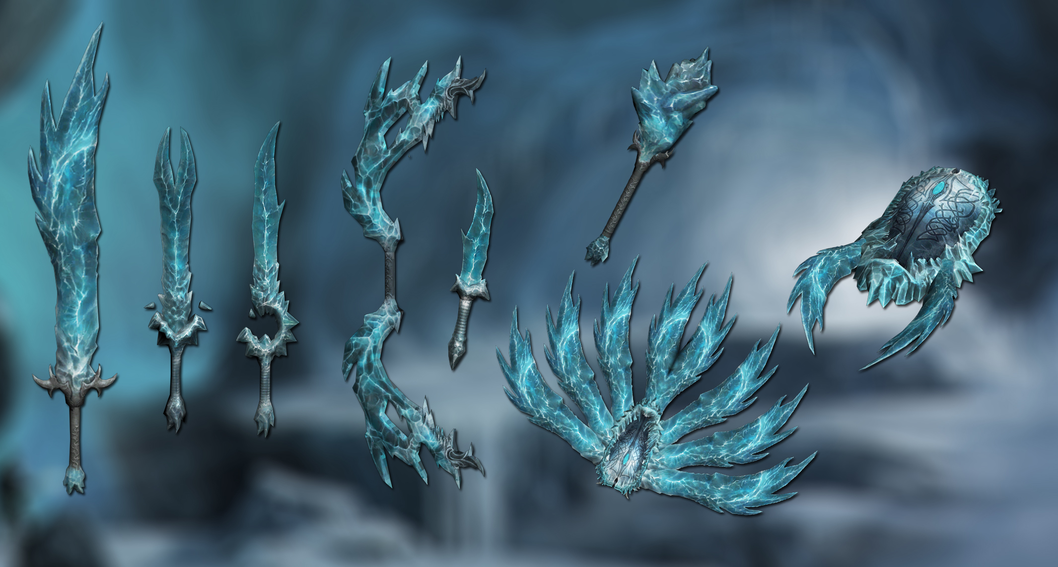Ice weapons