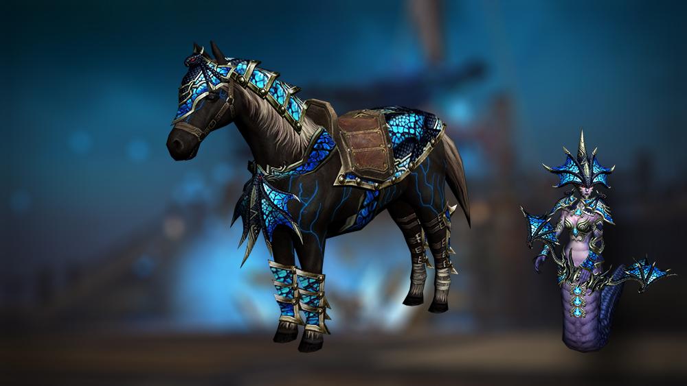 Medusa horse