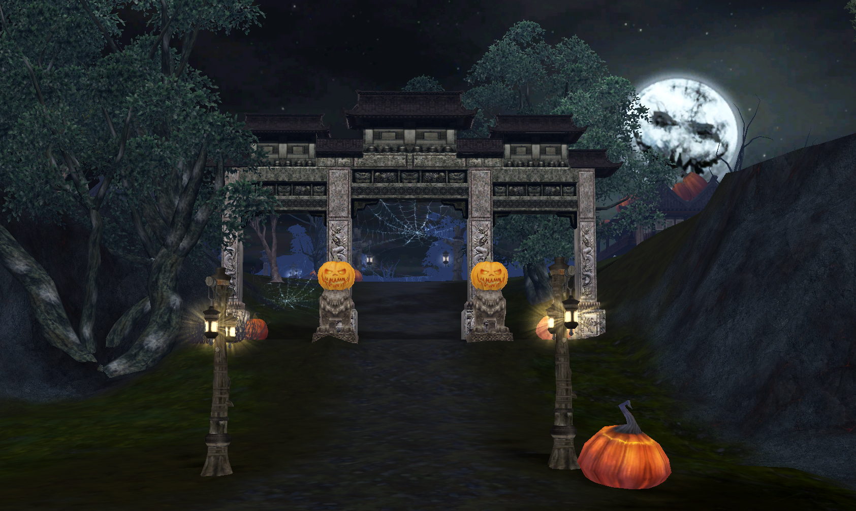 Halloween cities