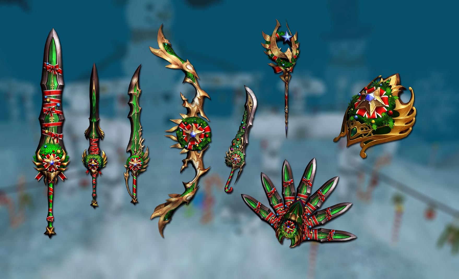 Christmas weapon skins