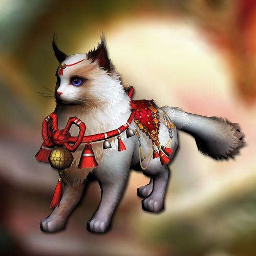 Oriental cat mount