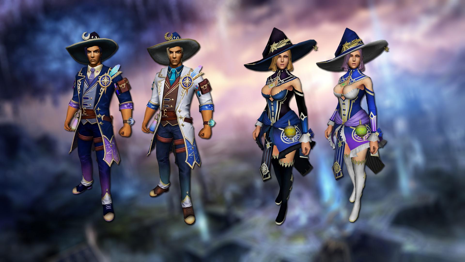 Magic costumes