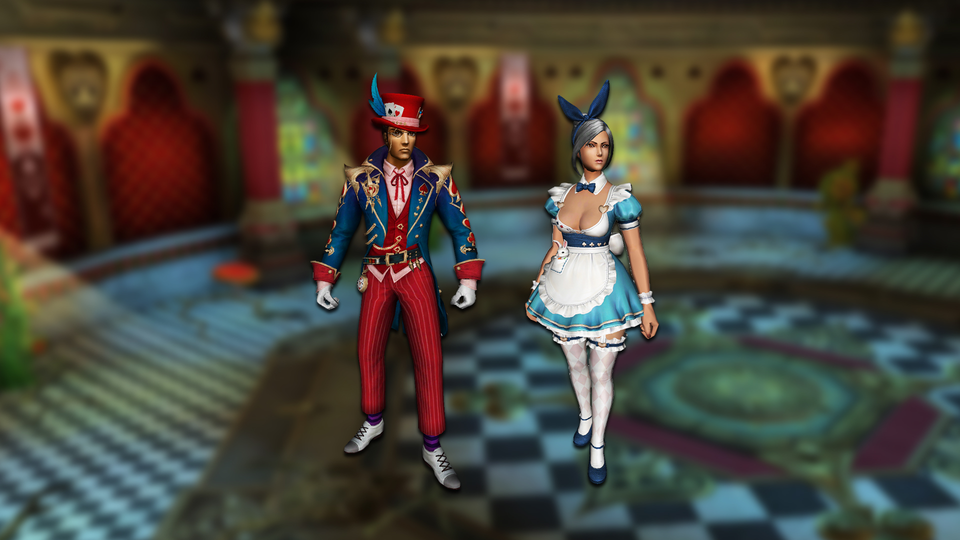 You are currently viewing Wonderland costumes