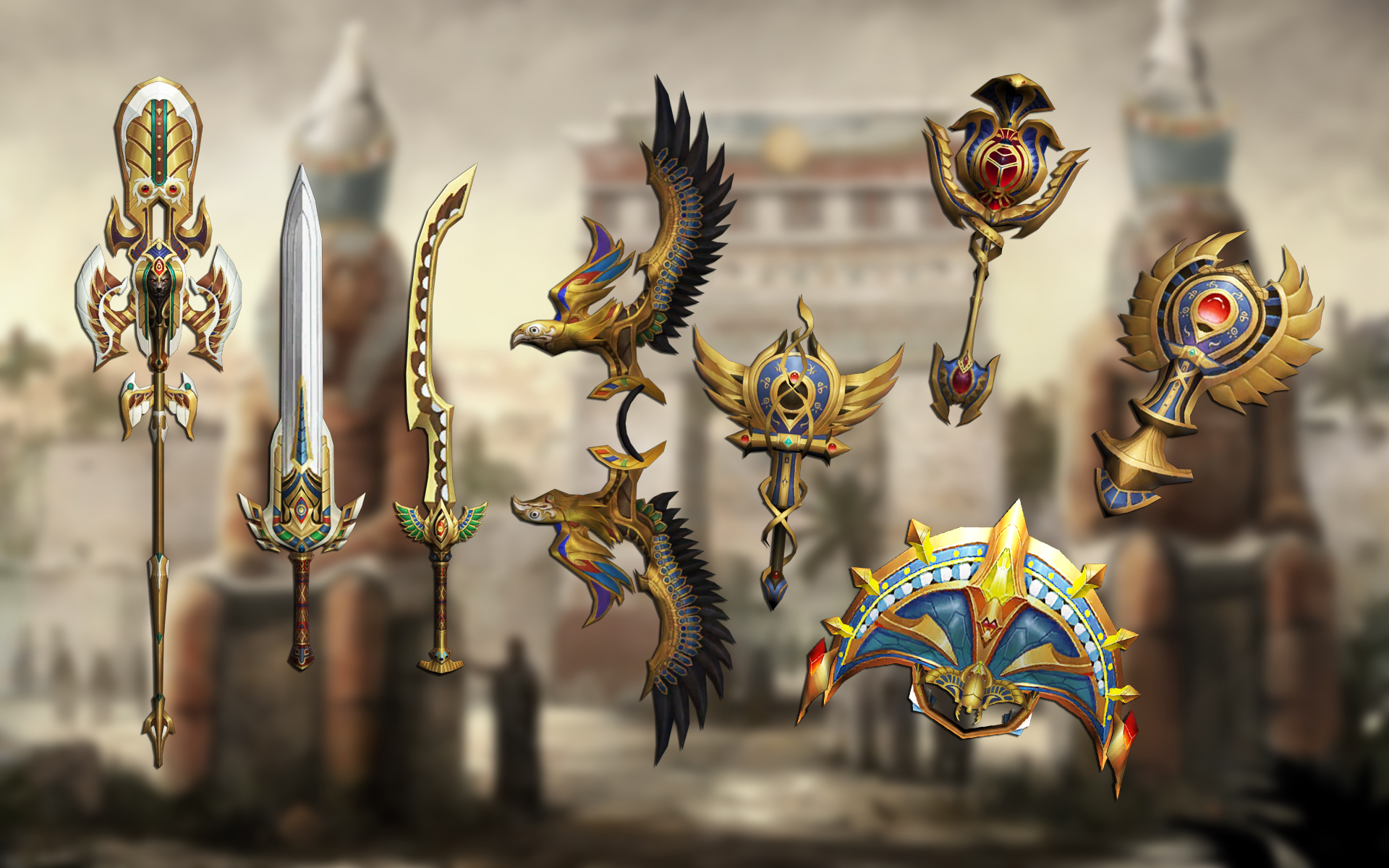 You are currently viewing Ancient egypt weapons