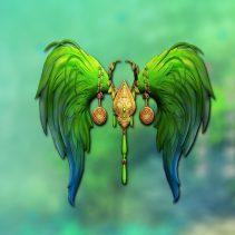 princess_wing_green