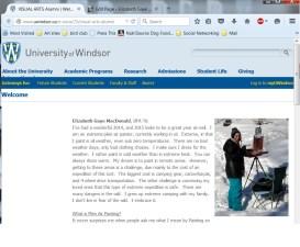My article published on the UofW alumni page June 26th, 2015 http://www.uwindsor.ca/e-soca/23/visual-arts-alumni