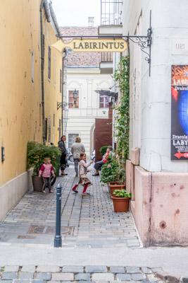 Une ruelle de Buda