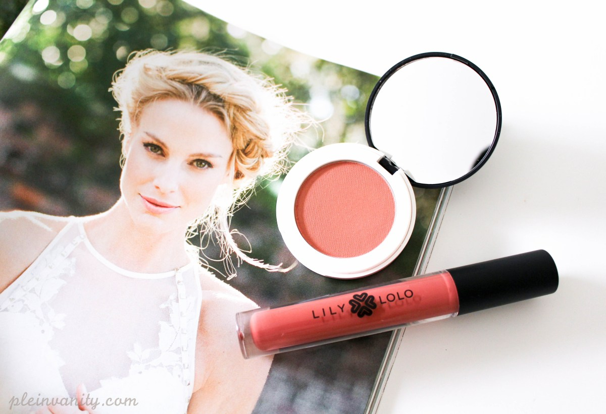 Peachy Pretty: Lily Lolo Pressed Blush and Lip Gloss
