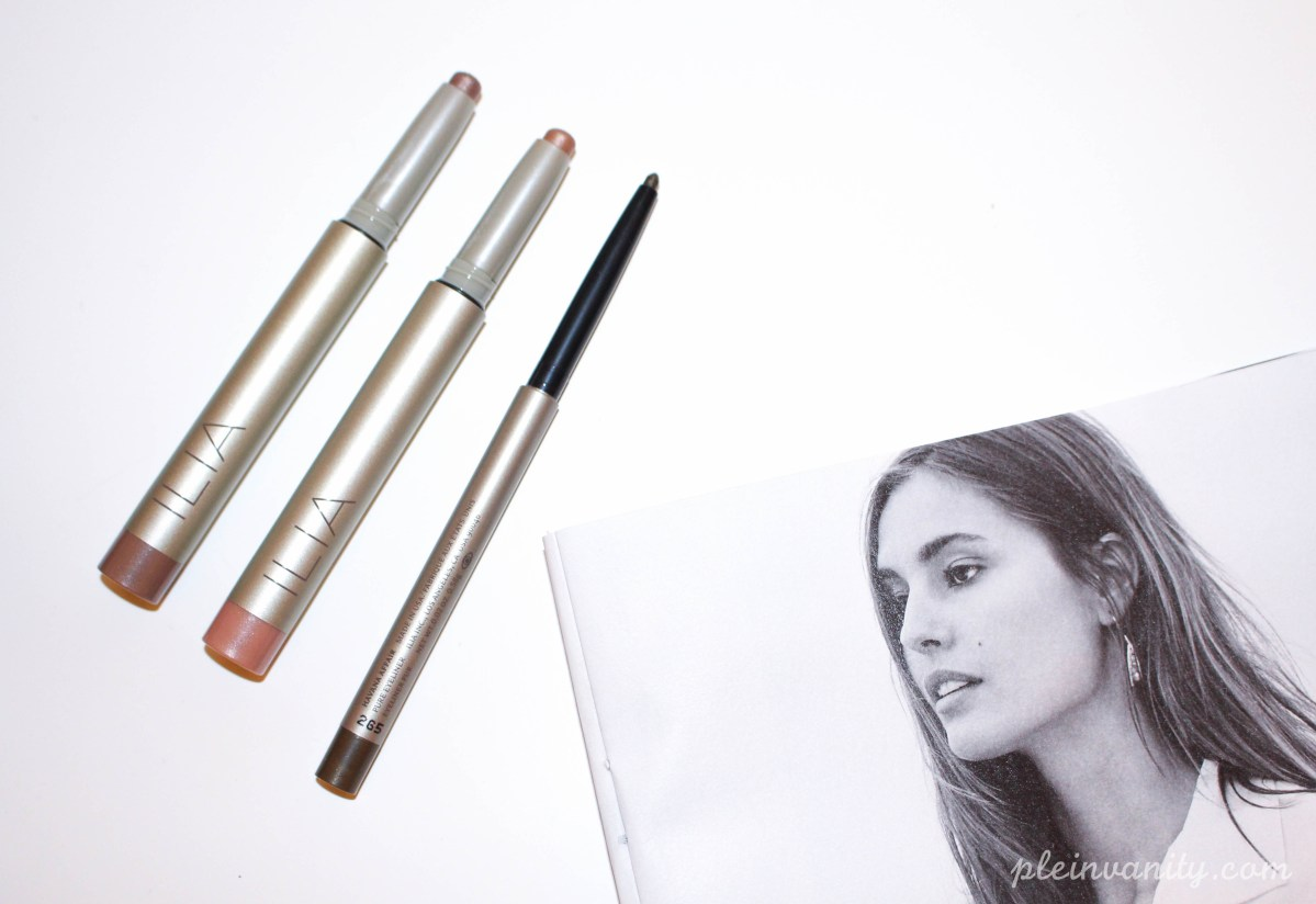 ILIA Beauty Silken Shadow Sticks & Pure Eyeliner