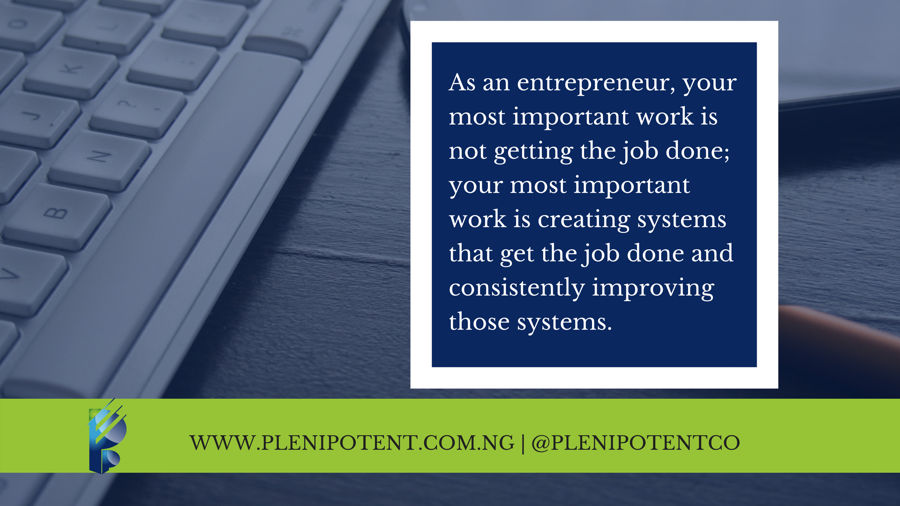 Running your business with a systems mindset