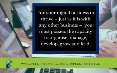Signposts on the path to digital entrepreneurship