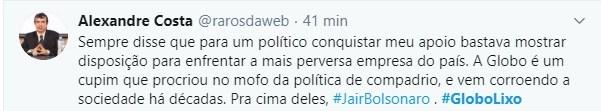 Web levanta a #GloboLixo