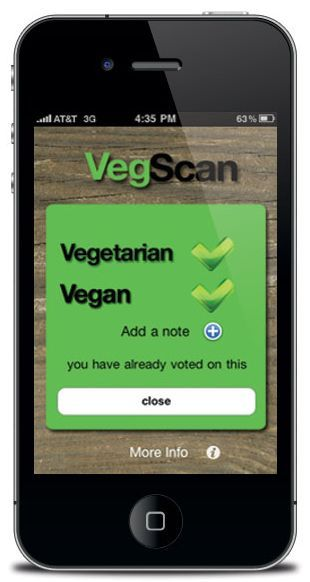 6 Mobile Apps for Vegetarian Shopping
